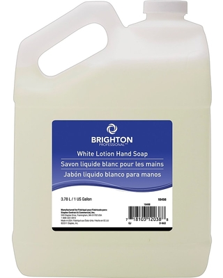 Brighton Professional White Lotion Hand Soap, 1 gal | Quill