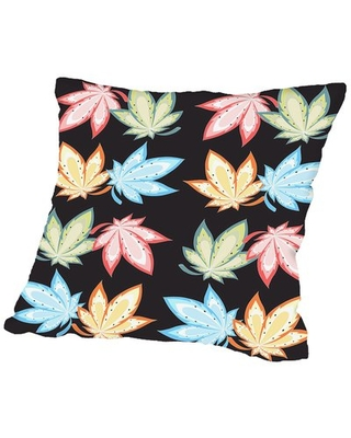 """Leaf Nature Throw Pillow Americanflat Size: 20"""" H x 20"""" W x 2"""" D"""