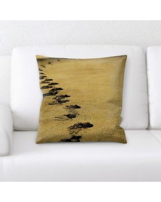 East Urban Home Sand Throw Pillow W000321811