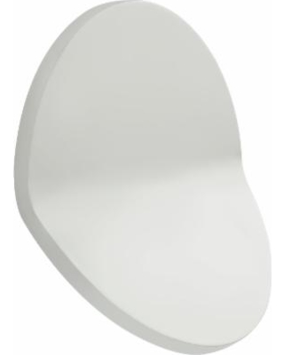Visual Comfort and Co. Peter Bristol Bend 12 Inch LED Wall Sconce - PB 2055WHT