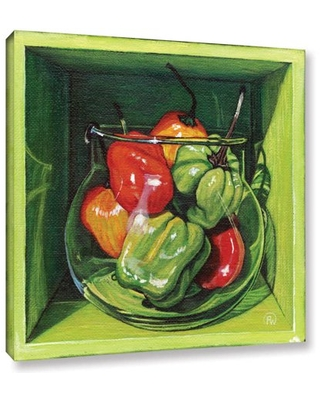 """ArtWall Paige Wallis """"Habanero"""" Gallery-wrapped Canvas"""