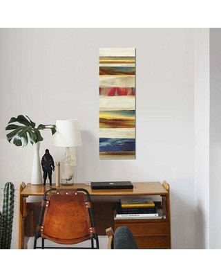 """East Urban Home 'Composition I' By PI Studio Graphic Art Print on Wrapped Canvas ETRC5603 Size: 36"""" H x 12"""" W x 0.75"""" D"""