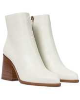 Ava leather ankle boots