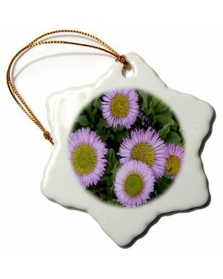 The Holiday Aisle Erigeron Flowers Holiday Shaped Ornament X113736178
