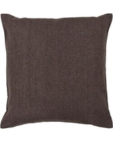 """Williston Forge Corliss Textured Contemporary Wool Throw Pillow WLFR4928 Size: 22"""" H x 22"""" W"""