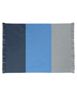 East Urban Home Tennessee Football Dark Blue/Blue/Gray Area Rug FCJK0407 Backing: Yes
