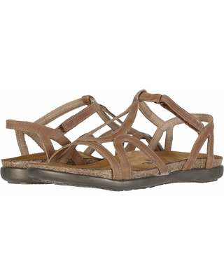 Naot Dorith (Latte Brown Leather) Women's Sandals
