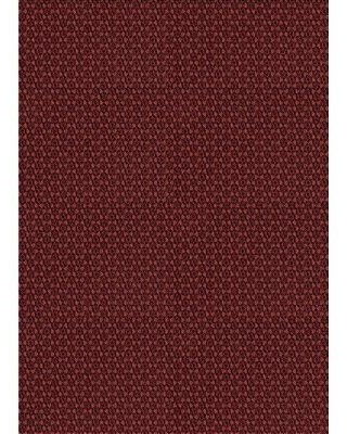 East Urban Home Loxley Geometric Wool Red Area Rug W001371966 Rug Size: Rectangle 2' x 3'