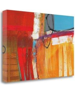 """Tangletown Fine Art 'Something To Remember I' Graphic Art Print on Wrapped Canvas CA316105-2416c Size: 32"""" H x 48"""" W"""