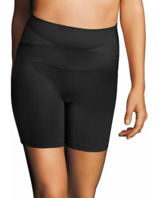 Maidenform Shapewear Control It Slim-Waisters Thigh Slimmer DM2550 - Women's, Size: Small, Black