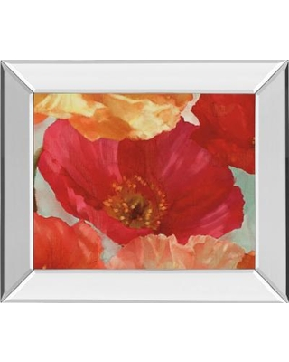 """""""22 in. x 26 in. """"Incandescence Il"""" By Pahl Mirror Framed Print Wall Art - Classy Art 8385MF"""""""