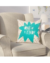 Viv + Rae Kory One of A Kind Throw Pillow VVRE4291 Color: Teal