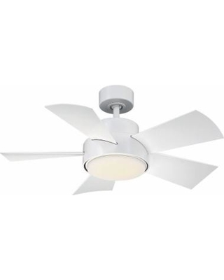 Modern Forms Elf Outdoor Rated 38 Inch Ceiling Fan with Light Kit - FR-W1802-38L-35-MW