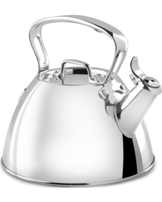 All-Clad 2-Quart Stainless Steel Tea Kettle, Size One Size - Metallic