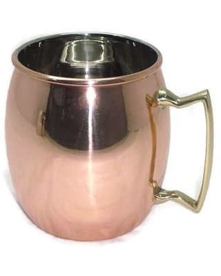 Elegance Copper Plated Moscow Mule Mug