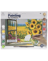 Amazing Savings On Coastal View Paint By Numbers Kit