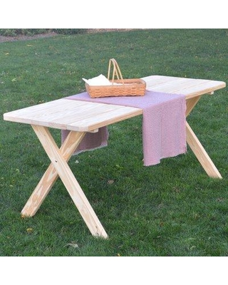Spectacular Savings On Loon Peak Roland Solid Wood Picnic Table
