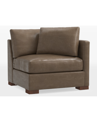 Wrenton Studio Leather Sectional Right Arm Chair