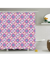 New Bargains On Ebern Designs Darla Tribal Ethnic Borders With Leaves Flowers Ivy Swirls Indian Inspired Art Image Single Shower Curtain Fcoe3765 Size 69 W X 70 H