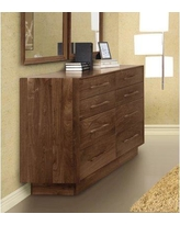 Copeland Furniture Moduluxe 1 Drawer Nightstand 2-MSD-06- Color: Natural Walnut