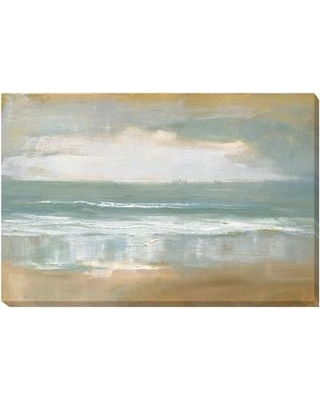 Artistic Home Gallery Shoreline by Caroline Gold Painting Print on Wrapped Canvas 2436O778CG