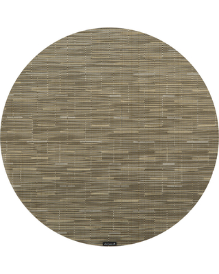 Chilewich - Bamboo Round Placemat - Dune