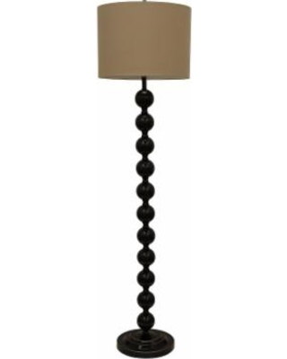 Decor Therapy Stacked Ball Floor Lamp, Brown