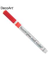 Red Glass Paint Marker