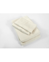 100% Rayon from Bamboo Ivory Queen Sheet Set