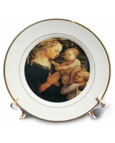 22 Off East Urban Home Madonna With The Cushion By Andra Solari Porcelain Decorative Plate X111645837