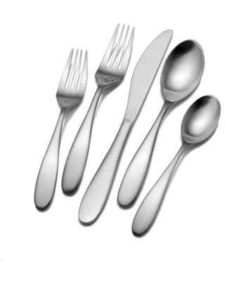 Towle Living Alpine 42-Piece Stainless Steel Flatware Set, Service for 8
