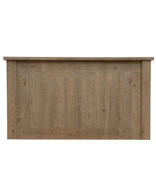 Union Rustic Devereaux Panel Headboard F10 Size: King Color: Red Canyon