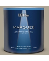 Phenomenal Deals On Behr Marquee 1 Gal Ppu8 19 Stone Walls One Coat Hide Eggshell Enamel Interior Paint And Primer In One