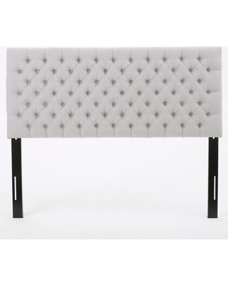 Bierman Upholstered Headboard - Light Gray - Full/Queen - Christopher Knight Home
