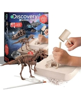 Discovery #Mindblown Dinosaur Fossil Dig T-Rex Excavation Kit, Multicolor
