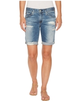 AG Adriano Goldschmied Nikki Shorts in 16 Years Indigo Deluge Destructed (16 Years Indigo Deluge Destructed) Women's Shorts