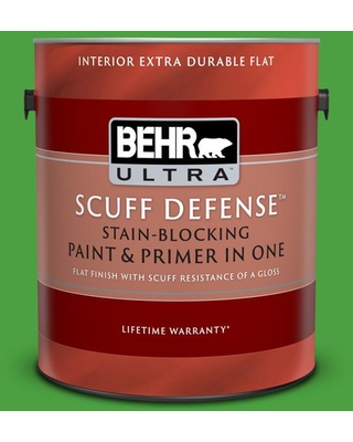 New Deal On Behr Ultra 1 Gal S G 440 Green Acres Extra Durable Flat Interior Paint Primer