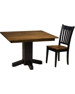 Noras 4650223BMCTC 2 PC Dining Room Set with Dining Table + Dining Chair in Black
