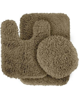 Wildon Home ® Breonna Bath Rug CST28349 Color: Taupe