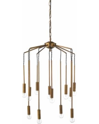 Jamie Young Company Cascade 26 Wide Antique Br 12 Light Pendant From Lamps Plus Bhg