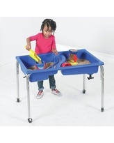 """Children's Factory Neptune Rectangle Sand & Water Table 1136-18 / 1136-24 Size: 24"""" H x 36"""" W x 24"""" D"""
