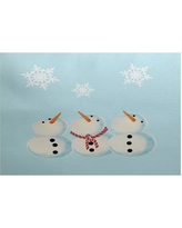 The Holiday Aisle Blue Indoor/Outdoor Area Rug HLDY1449 Rug Size: Rectangle 2' x 3'