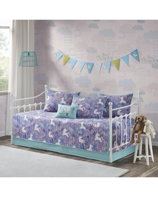Home Essence Kids Laila 6pc Cotton Reversible Daybed Set