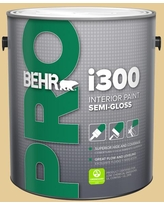 Great Deal On Behr Pro 5 Gal M320 5 Dried Chamomile Semi Gloss Interior Paint
