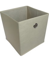 Fabric Cube Storage Bin 11 - Room Essentials, Brown