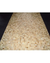 Modern Rugs Patchwork Static II Neutral Area Rug patchw5-97 Rug Size: Square 4'