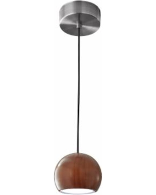 Adesso Cypress LED Round Pendant Lamp, Brown