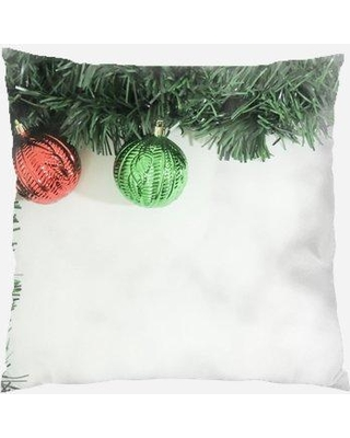The Holiday Aisle Perras Christmas Indoor/Outdoor Canvas Throw Pillow W000955224