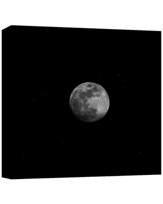 """PTM Images """"Moonlight'' Canvas Abstract Wall Art 15 in. x 15 in., Multicolored"""