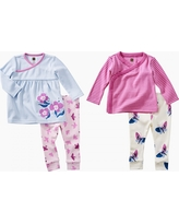 Tea Collection Wrap & Fly Baby Set